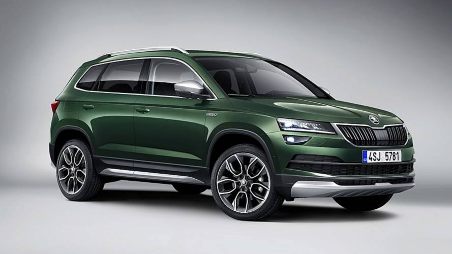 Skoda Karoq Scout Unveiled With Standard All-Wheel Drive