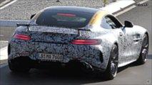 Mercedes-AMG GT R test mule