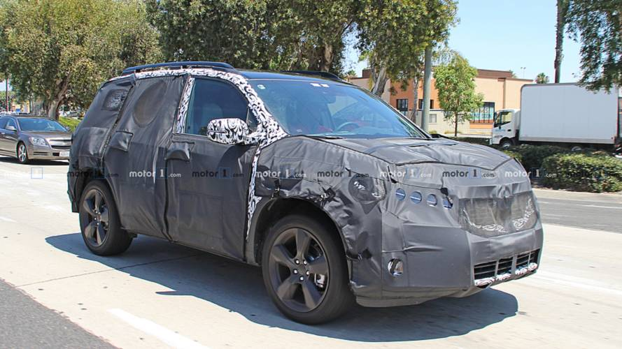 Honda Passport Spy Photos