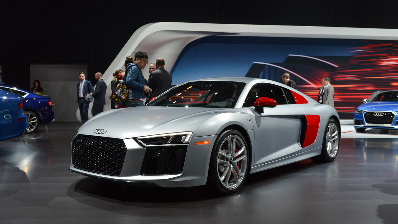 2018 Audi R8 Audi Sport Edition - New York 2017
