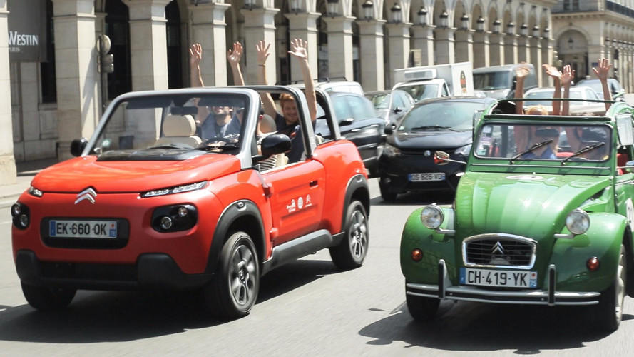 La Citroën E-Mehari à l'assaut de Paris