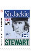 Le timbre Sir Jackie Stewart