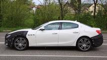 Maserati Ghibli Spy Shots