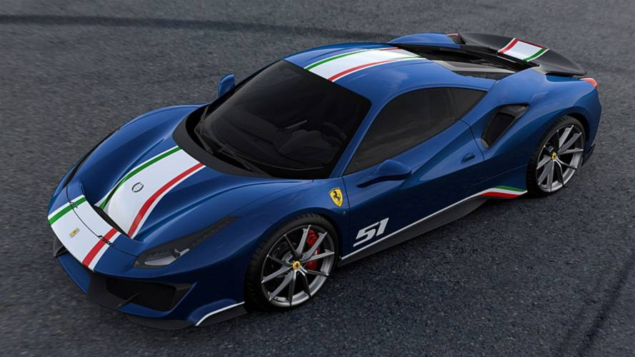 Discover all four versions of the 488 Pista Piloti Ferrari