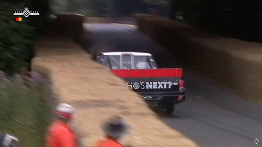 See Bill Goldberg's NASCAR And A Lister-Jaguar Crash At Goodwood