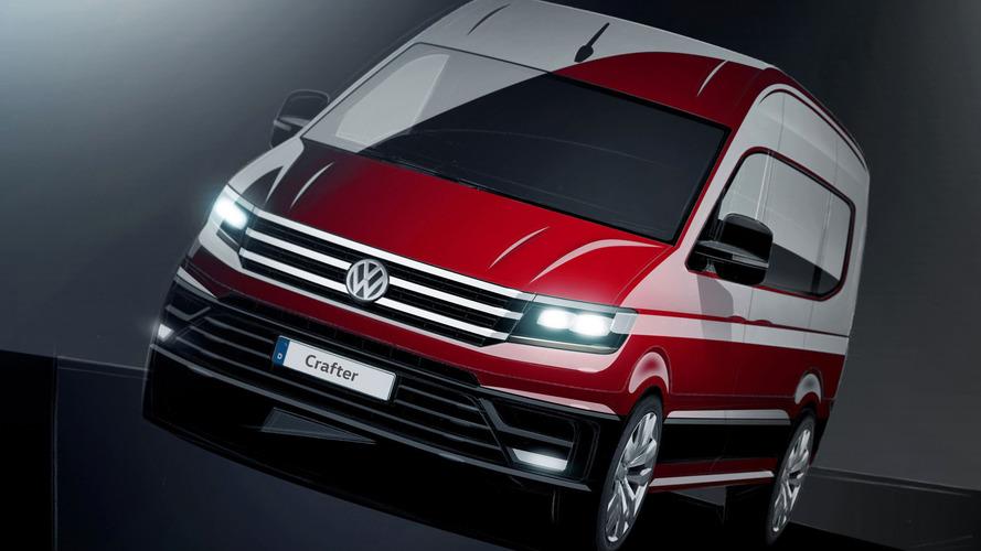 VW yeni Crafter'ın çizimini tanıttı