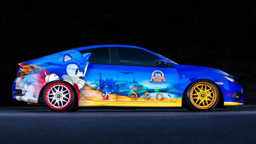 Honda Civic, çizgi roman fuarına 'Sonic' temasıyla katılacak