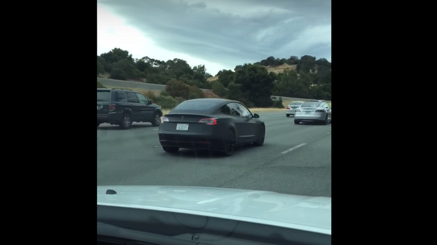 Tesla Model 3 prototype spotted in Palo Alto