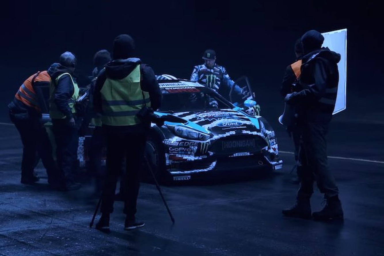 Ken Block and Friends Go Night Racing With Lasers and Supercars [Video]