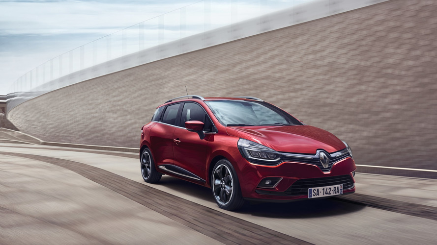 Renault Clio facelift revealed with LED headlights