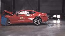 Ford Mustang 2017 Euro NCAP çarpışma testi