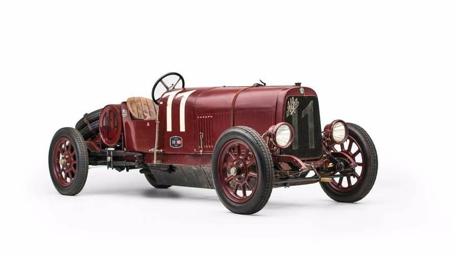 Única unidade do primeiro modelo da Alfa Romeo será leiloado
