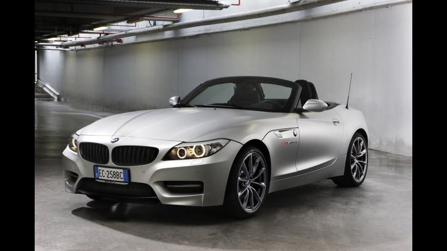 Alcantara e pelle per la BMW Z4 Mille Miglia