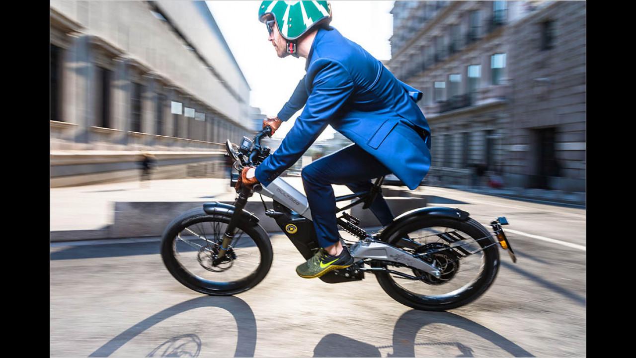 Zwischen Elektro-Motorrad und S-Pedelec