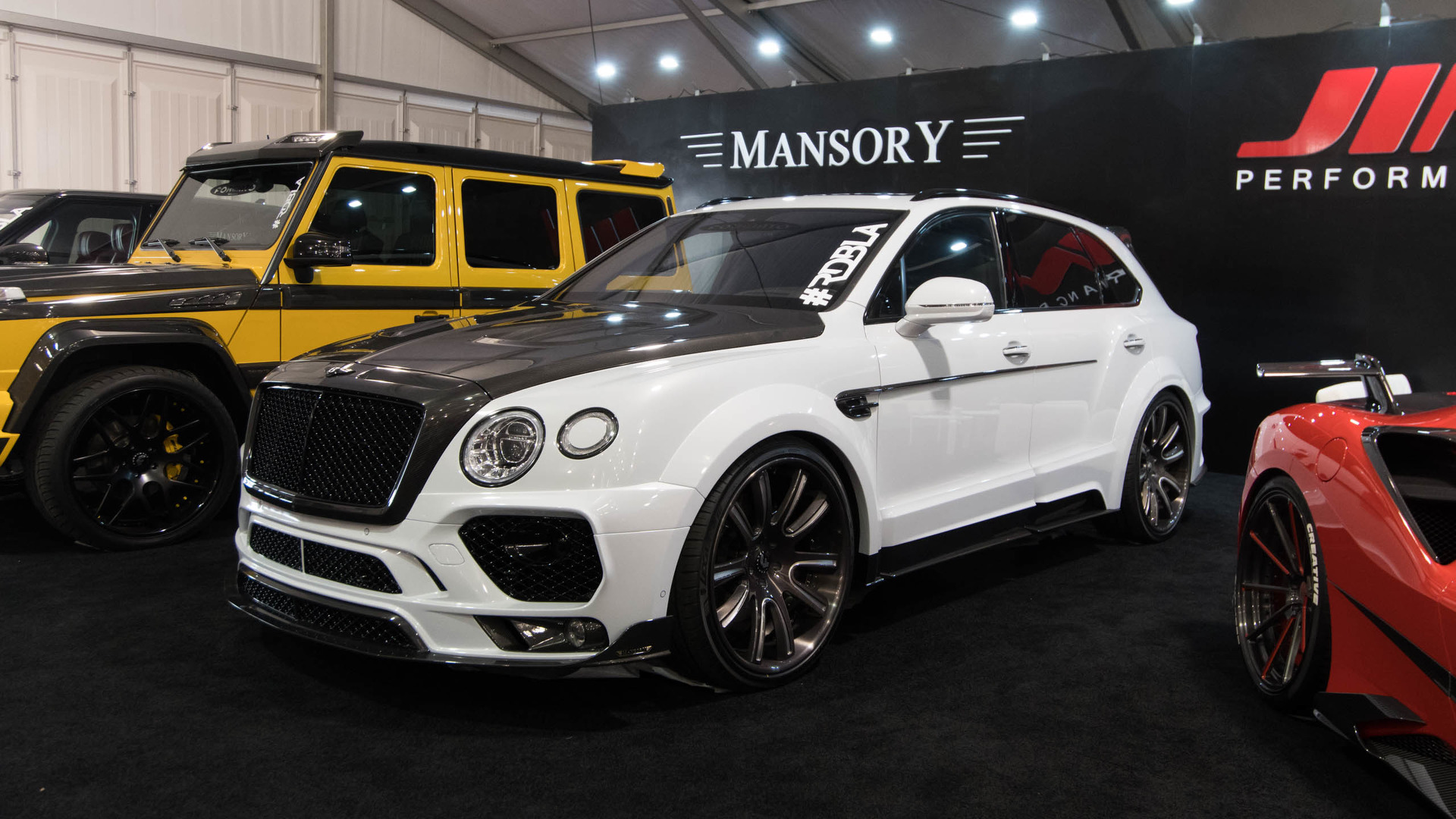 Even the Bentley Bentayga isn\'t safe from SEMA
