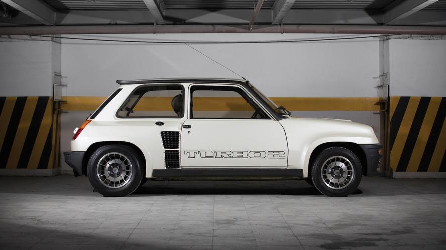 Une Renault 5 Turbo 2 presque neuve aux enchères