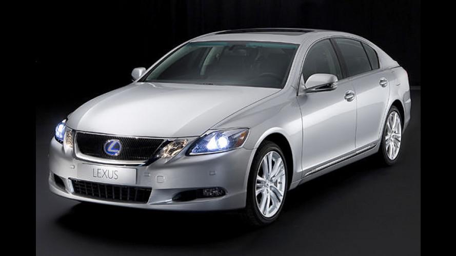Neuer Blick, neuer Motor: Facelift für den noblen Lexus GS