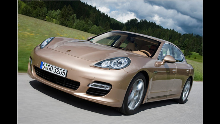 Überfall auf die Oberklasse: Porsche Panamera Turbo im Test