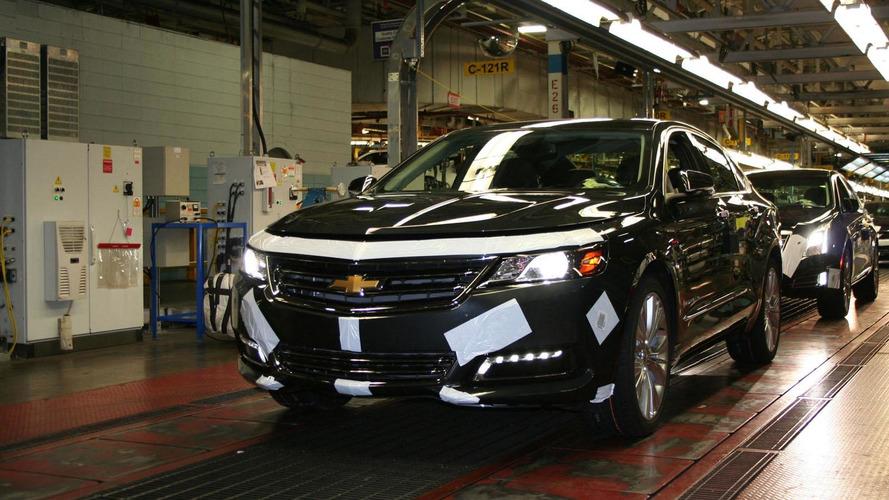 2014 Chevrolet Impala enters production