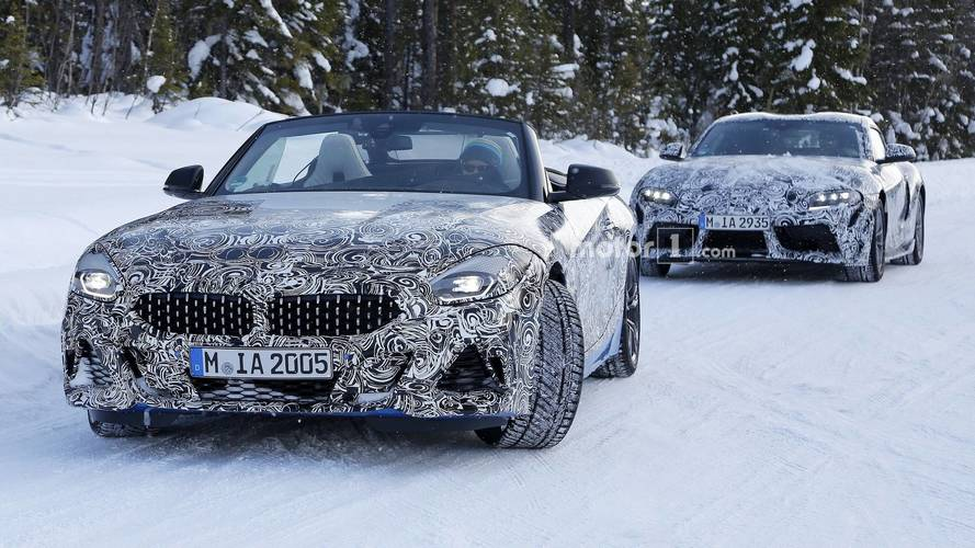 2018 BMW Z4 testlere üstü açık devam ediyor