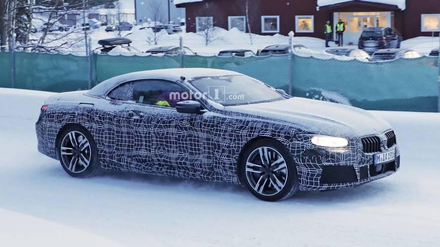 Nuevas imágenes del BMW Serie 8 Cabrio 2018