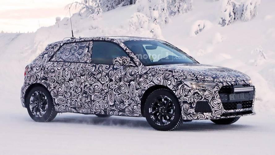 2018 Audi A1 buz gibi havada test yapıyor