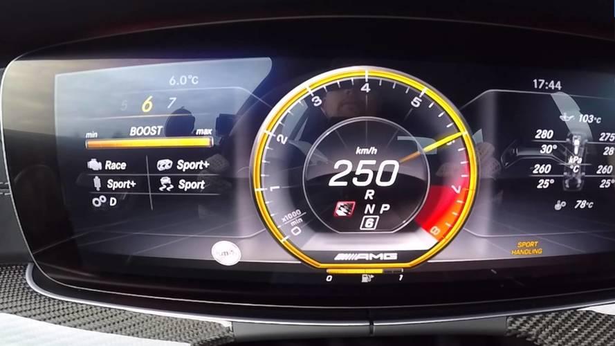 Mercedes-AMG E 63 S 4MATIC+ Estate 2018: así acelera de 0 a 255 km/h