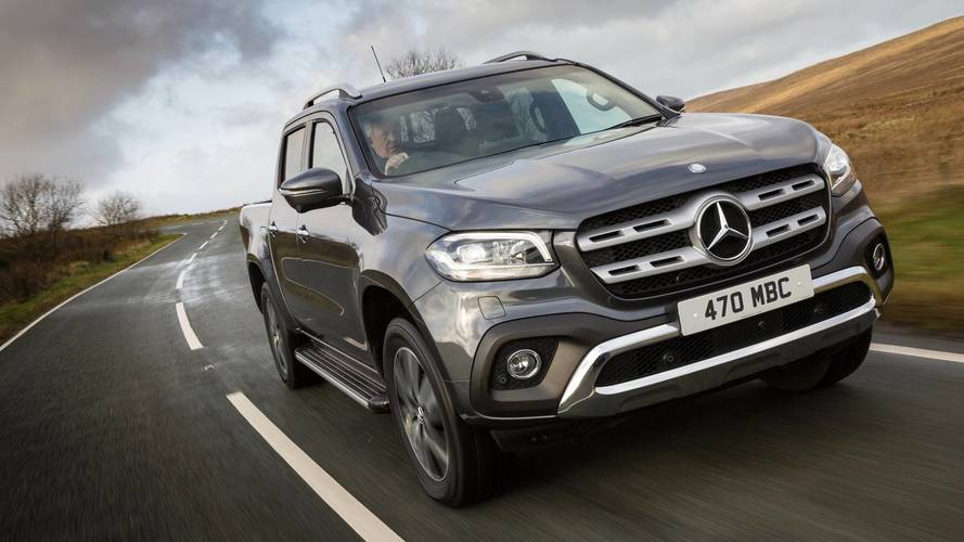 Posh Mercedes X-Class pickup available for an eye-watering £46,000