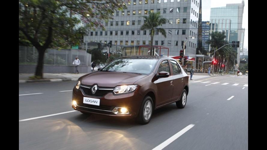 Vendas do Logan crescem quase 250% em 1º trimestre de alta para a Renault