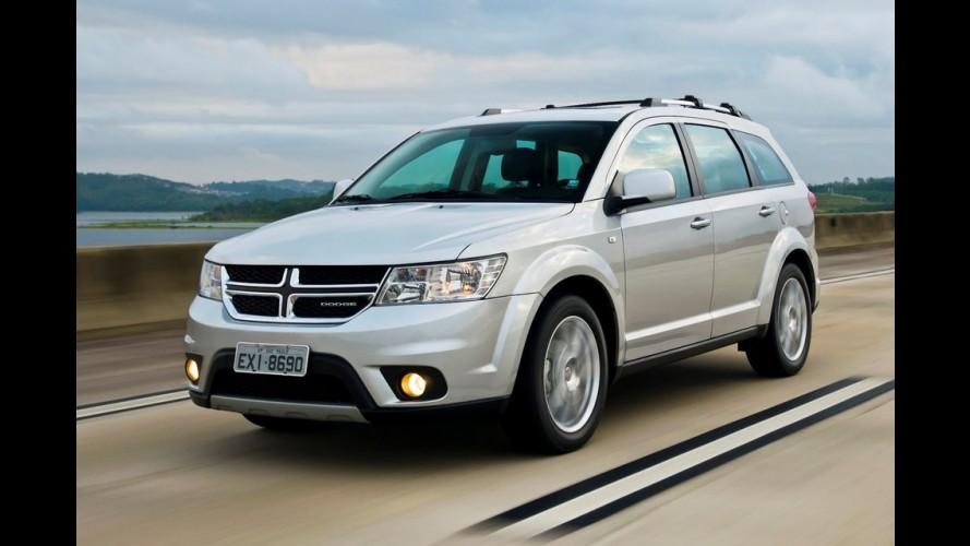Dodge Journey sofre aumento de preço e custa agora a partir de R$ 129.900