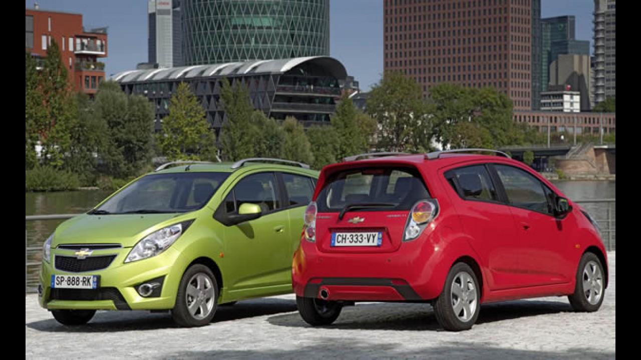 Chevrolet lança Spark na Argentina
