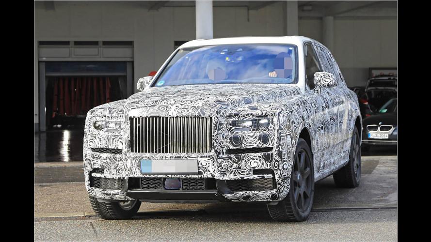 Erwischt: Rolls-Royce Cullinan