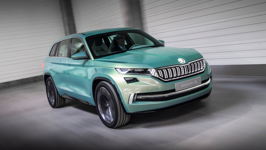 Skoda EV concept heading to Auto Shanghai next month