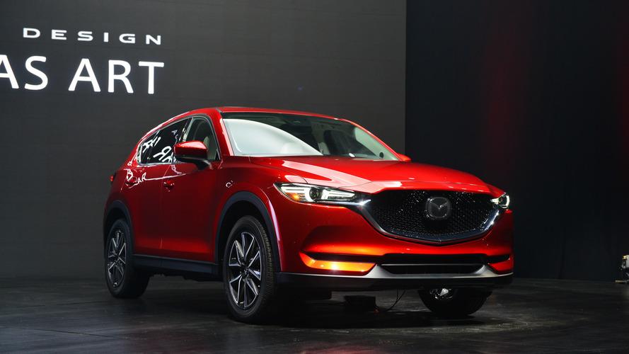 Yeni 2017 Mazda CX-5'in tasarımı diğer crossover'ları gölgede bırakıyor