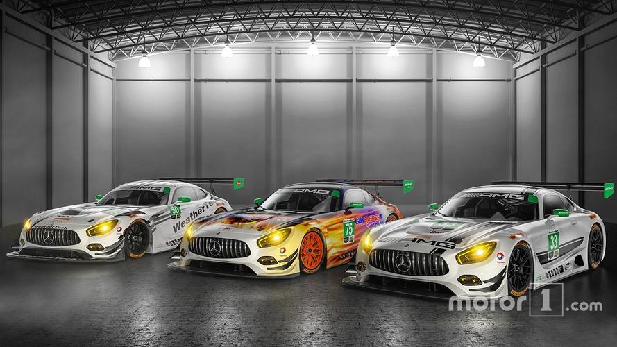 VIDÉO - Les Mercedes-AMG GT3 à l'assaut du championnat IMSA en 2017
