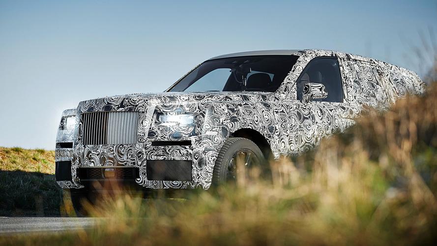 Rolls-Royce Cullinan - Le futur SUV montre ses formes !