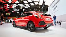 2017 Honda Civic Hatchback Paris Motor Show