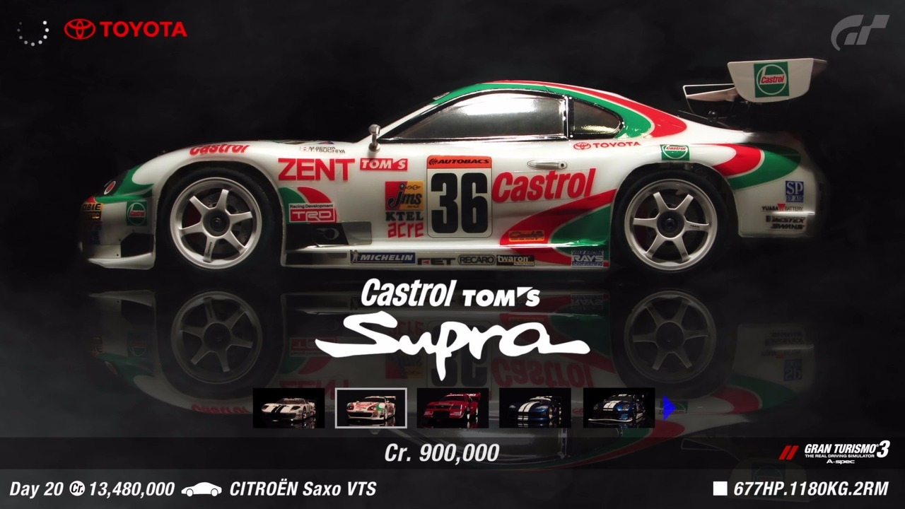 Gran Turismo gameplay recreated with RC cars