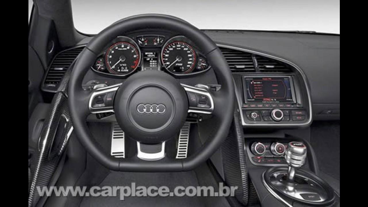 Novo Audi R8 com motor V10 de 534 cv - Vazam as primeiras imagens oficias