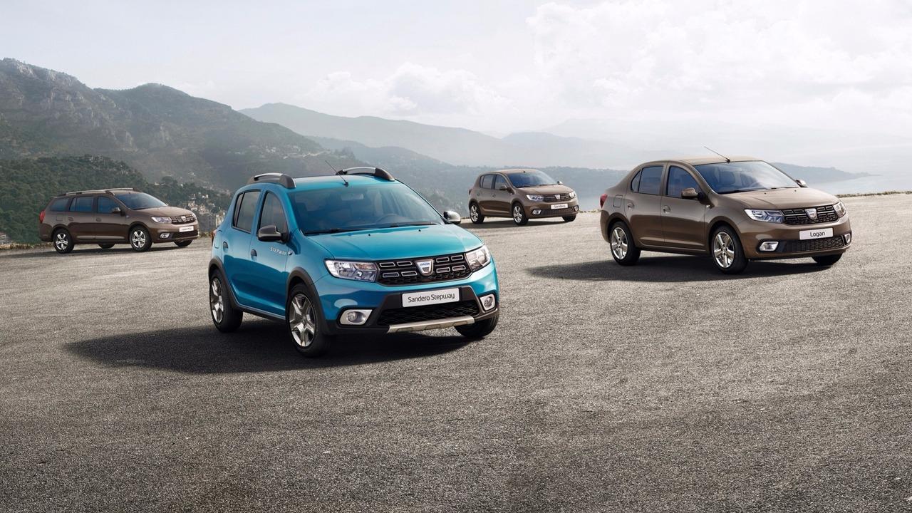 2017 Dacia Sandero & Logan facelift