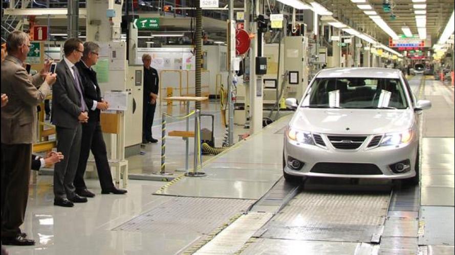 Saab 9-3, dopo due anni riparte la produzione