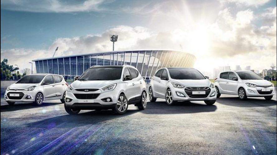 Mondiali, Hyundai scende in campo con la Limited Edition