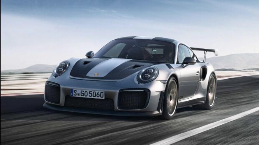 Nuova Porsche 911 GT2 RS, le prime foto ufficiali