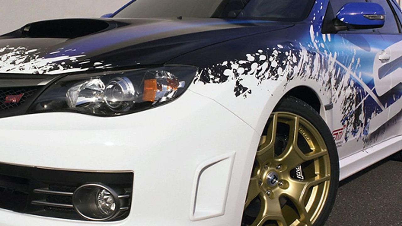 2010 Subaru WRX STI by SPT Concept teaser