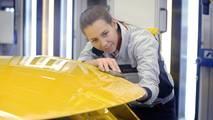 Porsche 911 Turbo Saffron Yellow Metallic