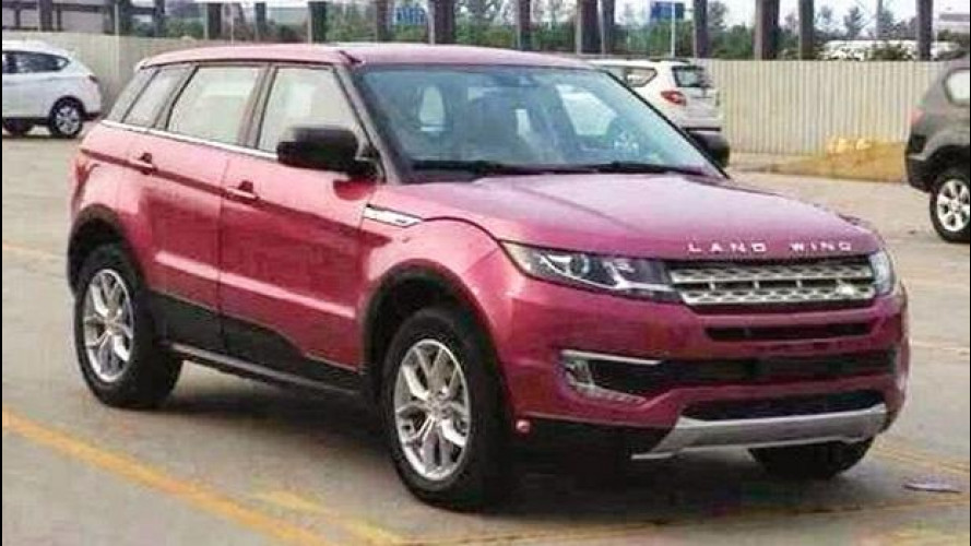 Landwind X7, la copia cinese dell'Evoque