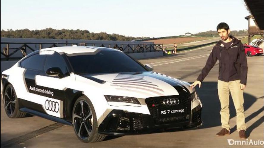 Audi RS 7, oggi pilota lei (e noi facciamo i passeggeri)