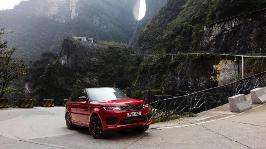 Range Rover Sport PHEV escalera