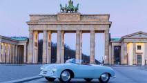 A Replica of 356-001 Poses in Berlin