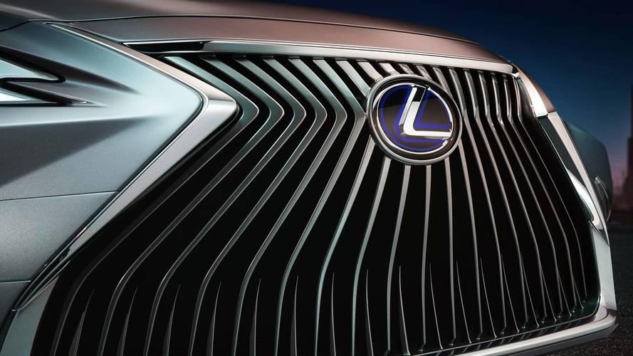 2019 Lexus ES Teaser Reveals Massive Spindle Grille